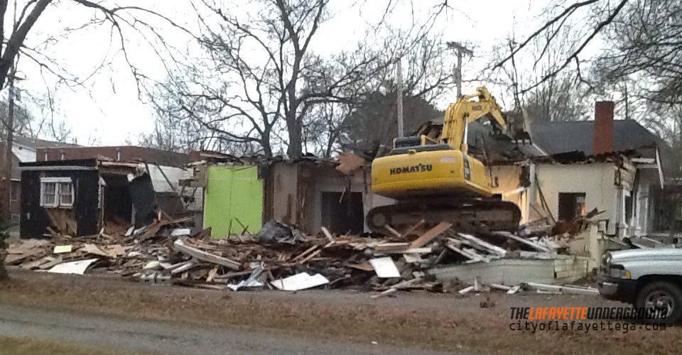 402 S. Main St Demolition