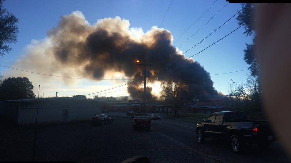 Barwick Fire - West Cherokee St / Brooke Thomas