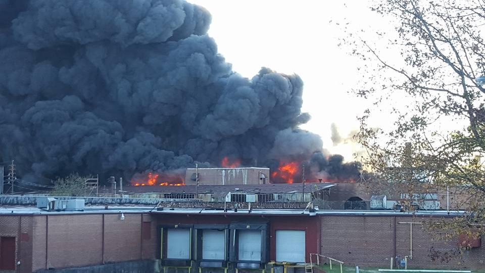 Barwick Fire - West Cherokee St