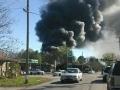 Barwick Fire As Seen From South Chattanooga St Near Kangaroo / Warren Coker