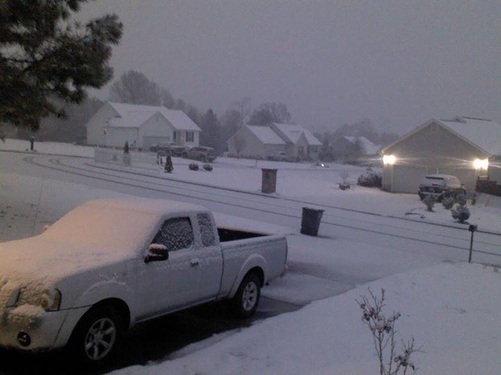 Snowy LaFayette Subdivision