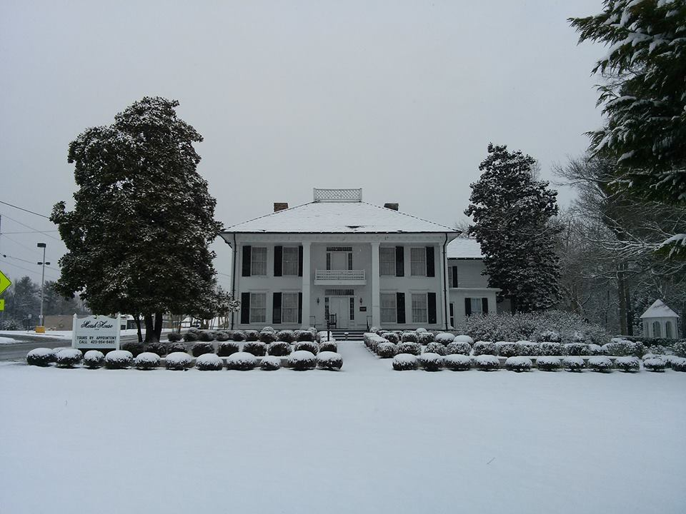 Snow at Marsh House