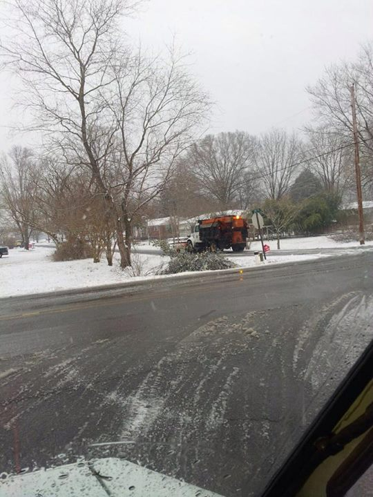 County Plow Truck in Flintstone