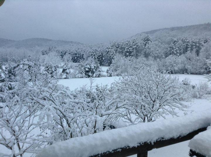 Snow in Villanow