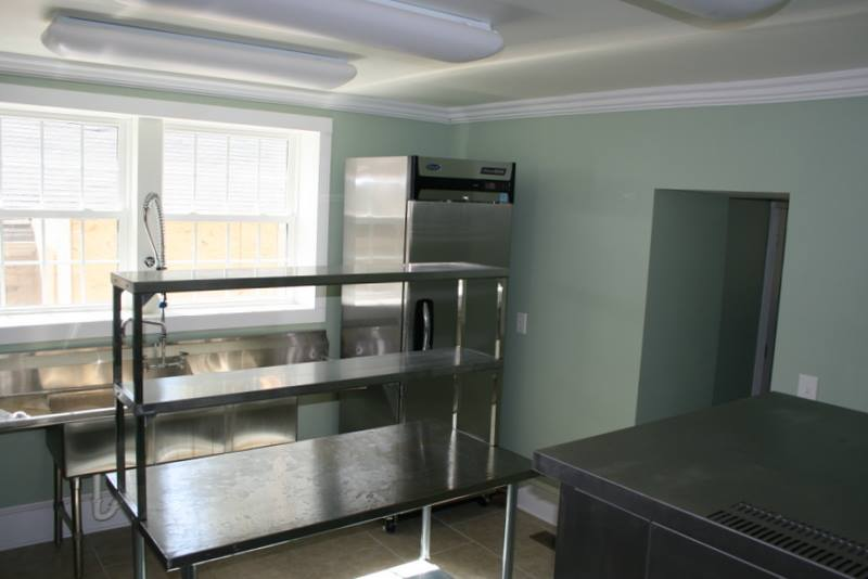 Commercial Kitchen at MCF