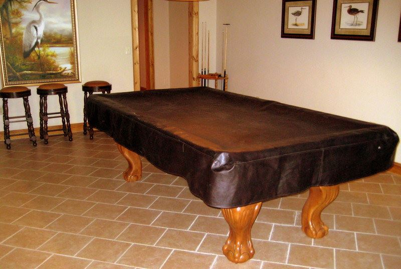 Cabin Pool Table at MCF