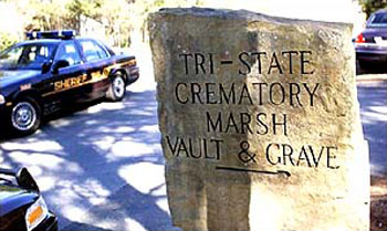 Tri-State Crematory Sign