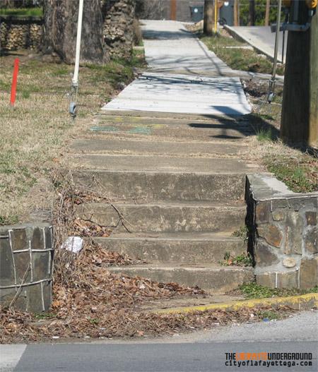 Sidewalk Steps