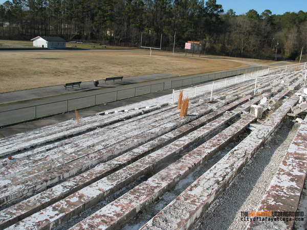 Patton Stadium Stands at Ross Abney Complex