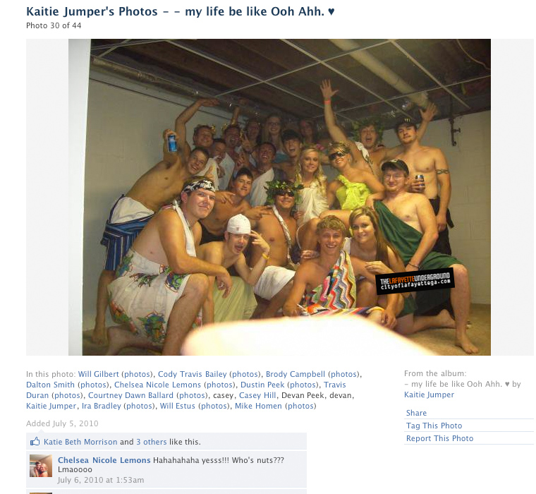 How To Make A Guy Toga The LaFayette Undergro...
