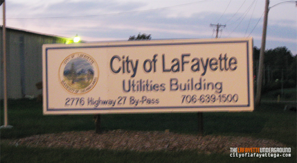 LaFayette Public Works and Utilities