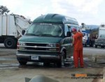 Inmate Washing Personal Vehicle
