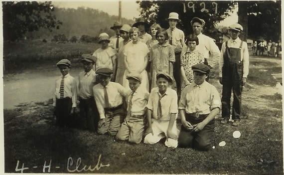 Walker 4-H in 1927