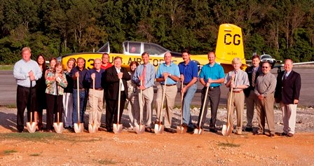 LaFayette Airport Terminal Groundbreaking Ceremony