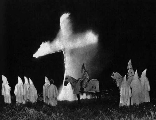 KKK Cross Burning