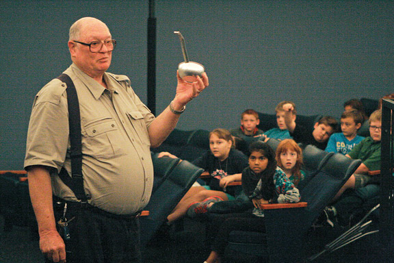 Jim Smith at Smith Planetarium