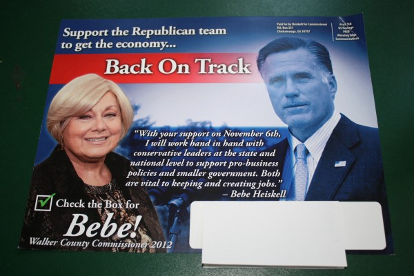 Heiskell - Romney Mailer