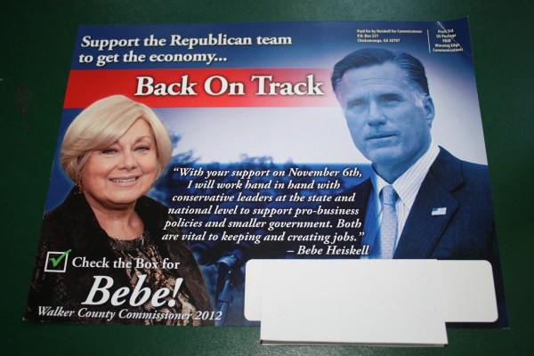Heiskell - Romney Mailer