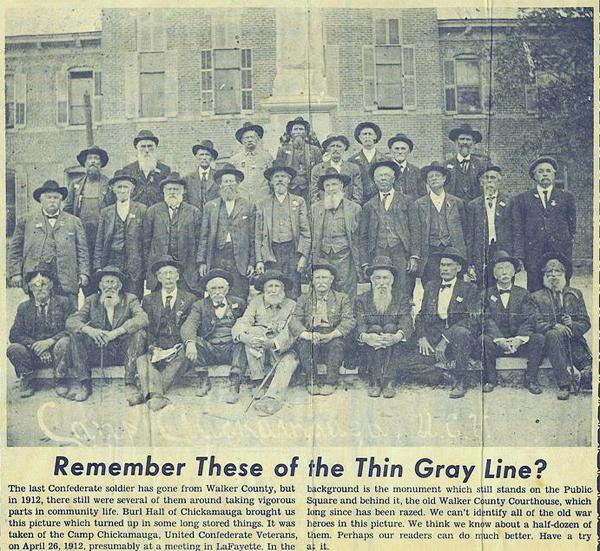1912 Confederate Veteran Reunion