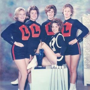 LHS Majorettes 1964