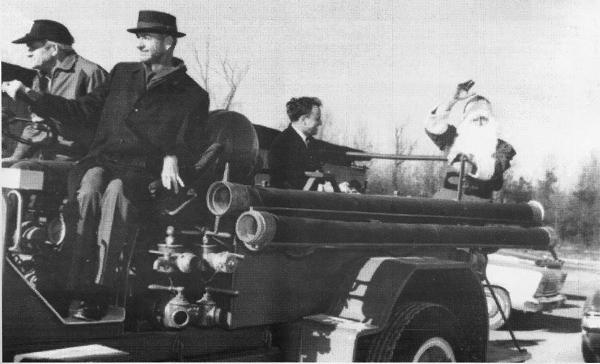 LaFayette Christmas Parade Firetruck