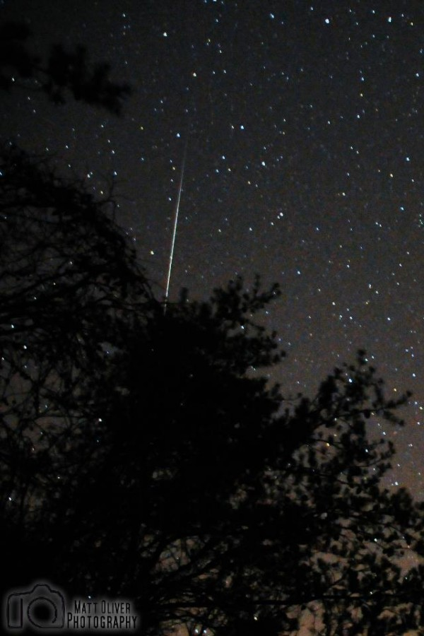 Meteor Shower from Johns Mountain