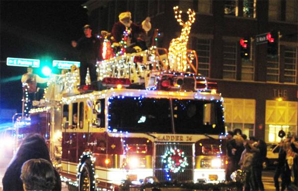 2012 LaFayette Christmas Parade