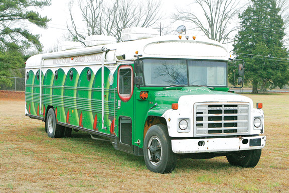Walker Schools Bug Bus