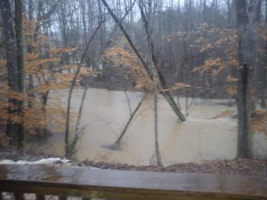 Flood on Straight Gut Rd