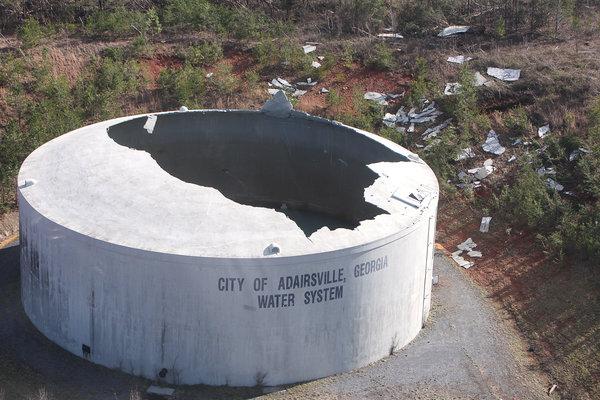 Adairsville Damage