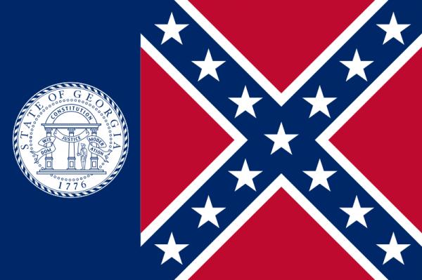1957 Georgia Flag