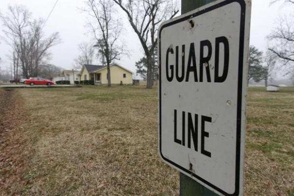 Hays Prison Guard Line