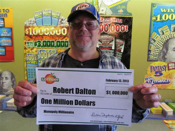 Lotto Winner Robert Dalton