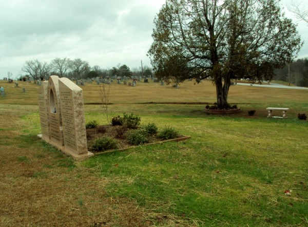 Tri-State Crematory Monument at TN-GA Cemetery