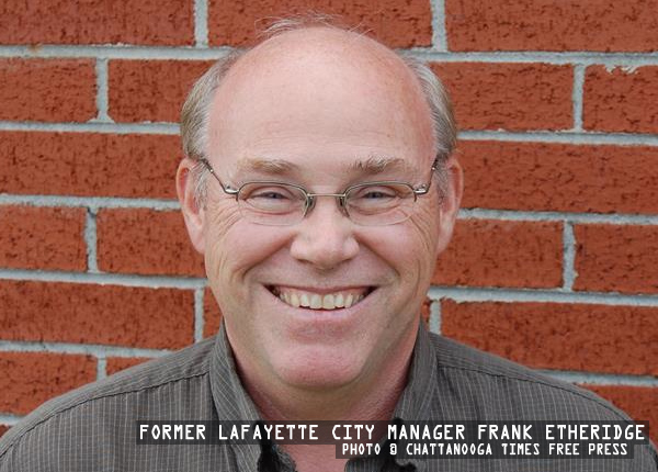 Former LaFayette City Manager Frank Etheridge