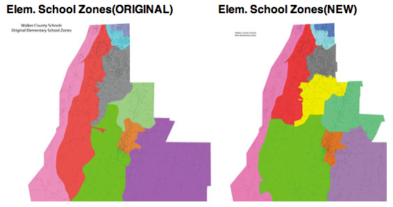 School Rezoning Maps