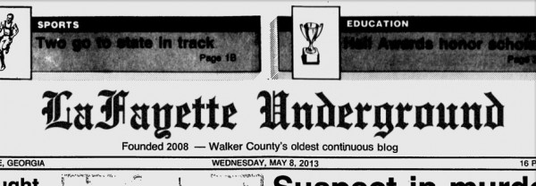 Walker County's Oldest Continuous Blog