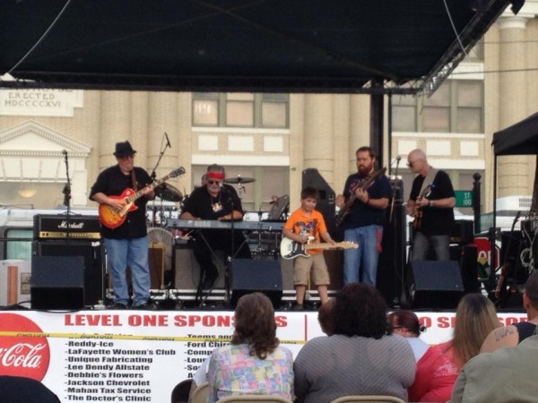 Music on the Square 2013