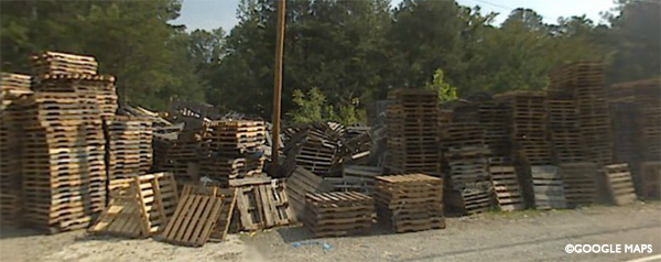 Pallet Man Mess