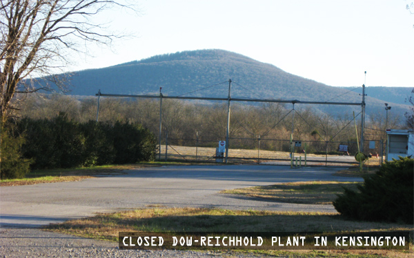 Closed Dow-Reichhold Latex Plant in Kensington