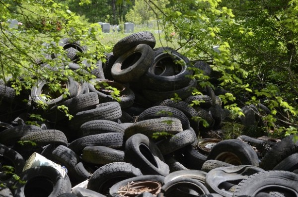 Chickamauga Tire Dump