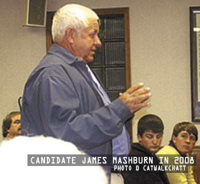 Mayor Candidate James Mashburn in 2008