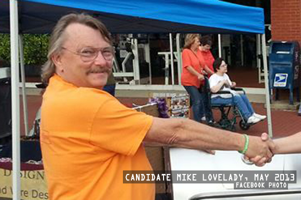 Mayor Candidate Mike Lovelady