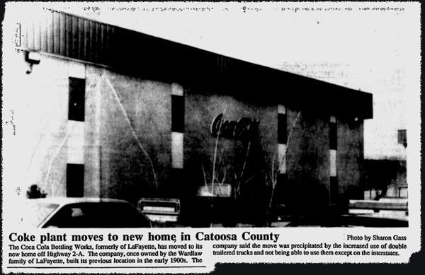Coca-Cola Relocation, Walker Messenger Feb 17 1989