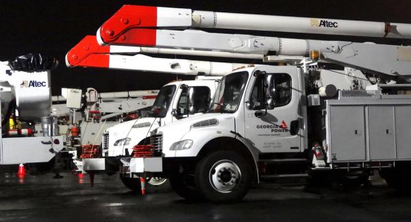 Georgia Power Trucks