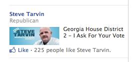 Steve Tarvin Facebook Ad