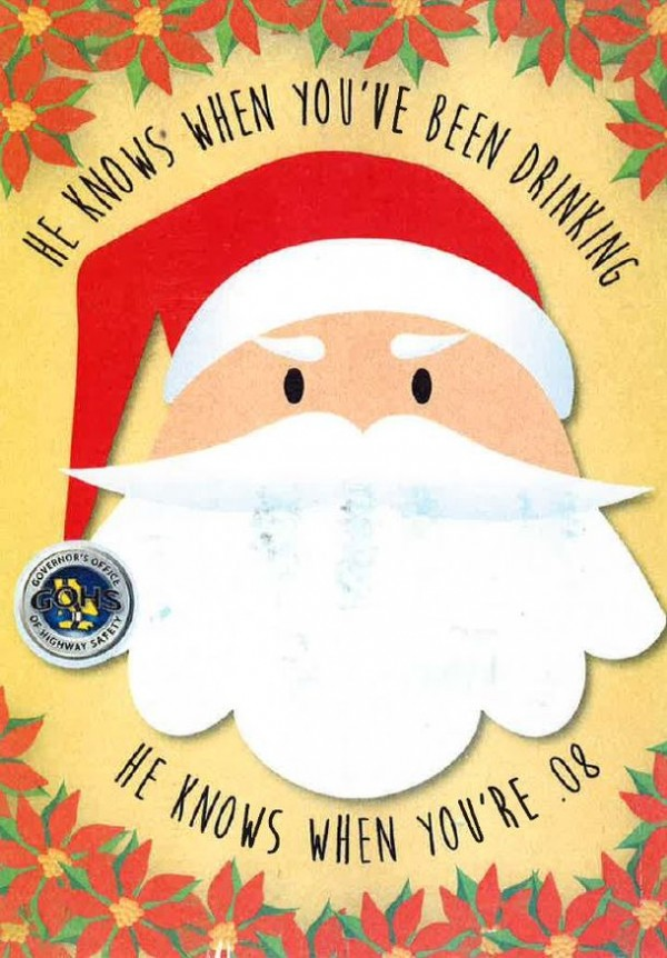 Governors Office of Highway Safety Christmas Card