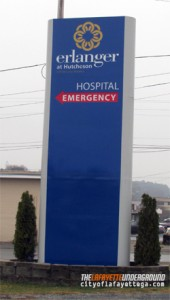 Hutcheson Medical Center Sign