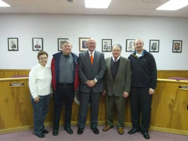 2014 LaFayette Council & Mayor