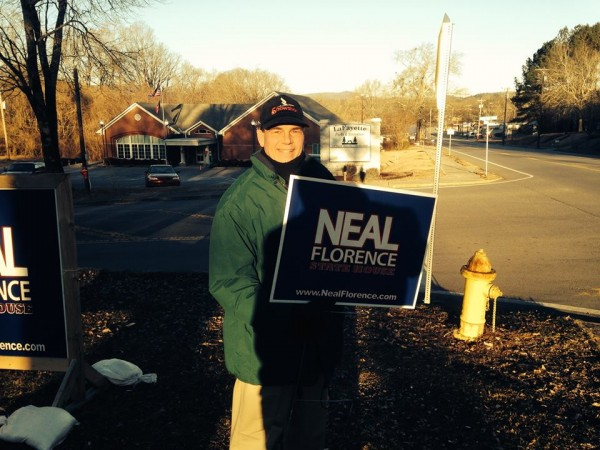 Neal Florence Campaigning